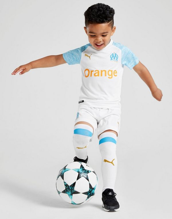5c4bddb89 PUMA Olympique Marseille 2018 19 Home Kit Children