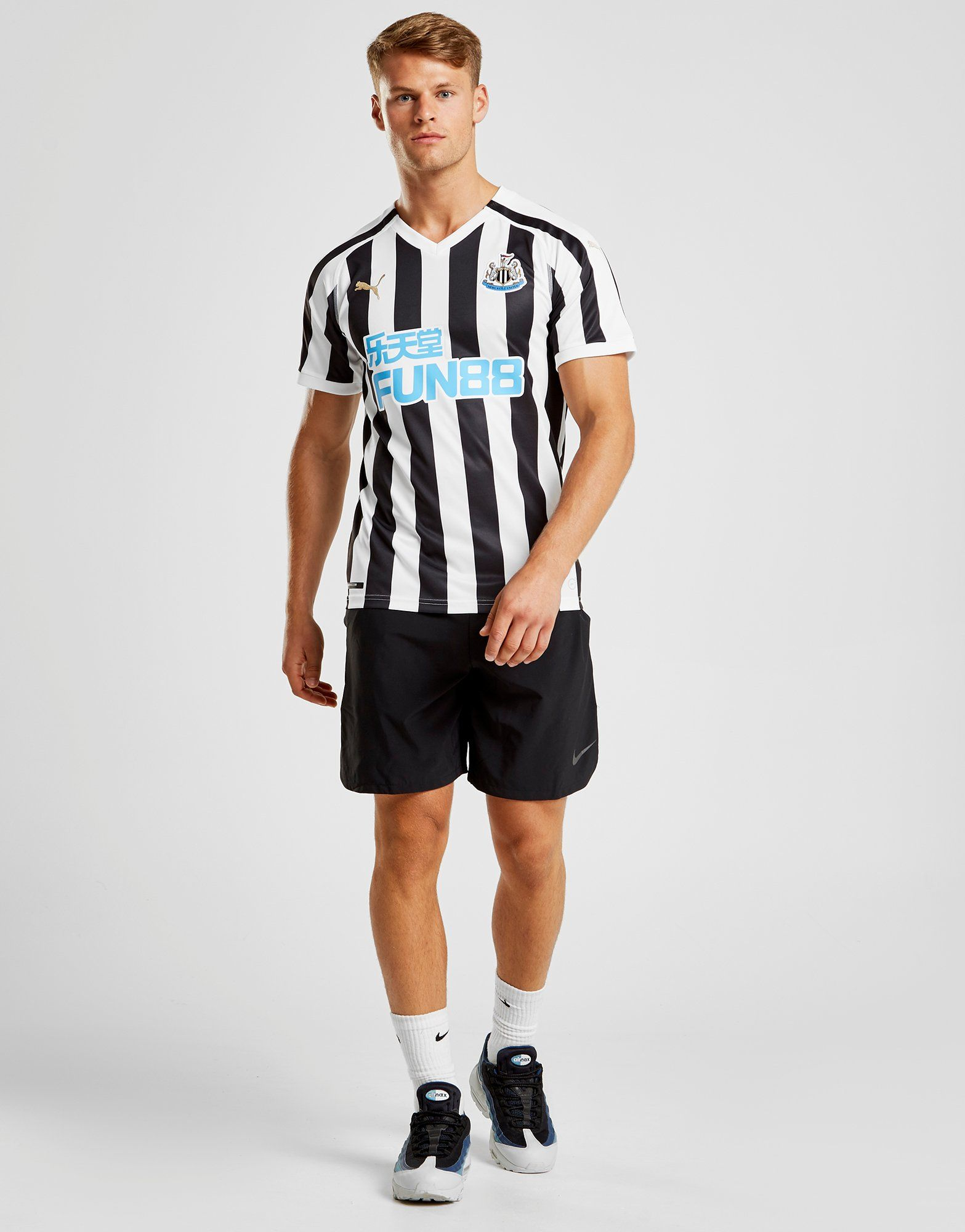 PUMA Newcastle United FC 2018/19 Home Shirt