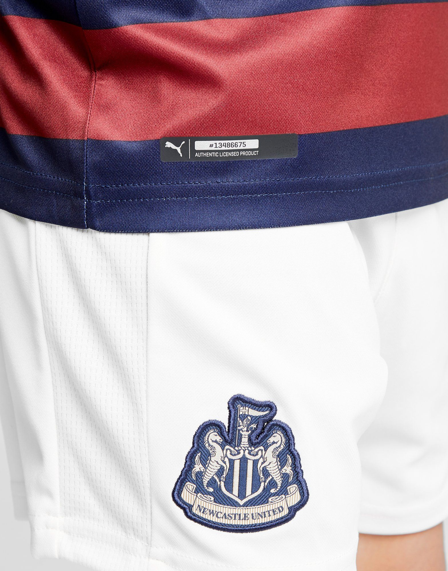 PUMA camiseta 2.ª equipación Newcastle United FC 2018/19 júnior