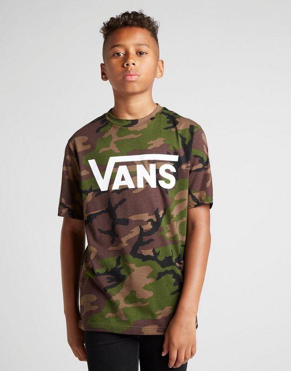 Vans All Over Print Camo T-Shirt Junior  d505b1f2c97e2