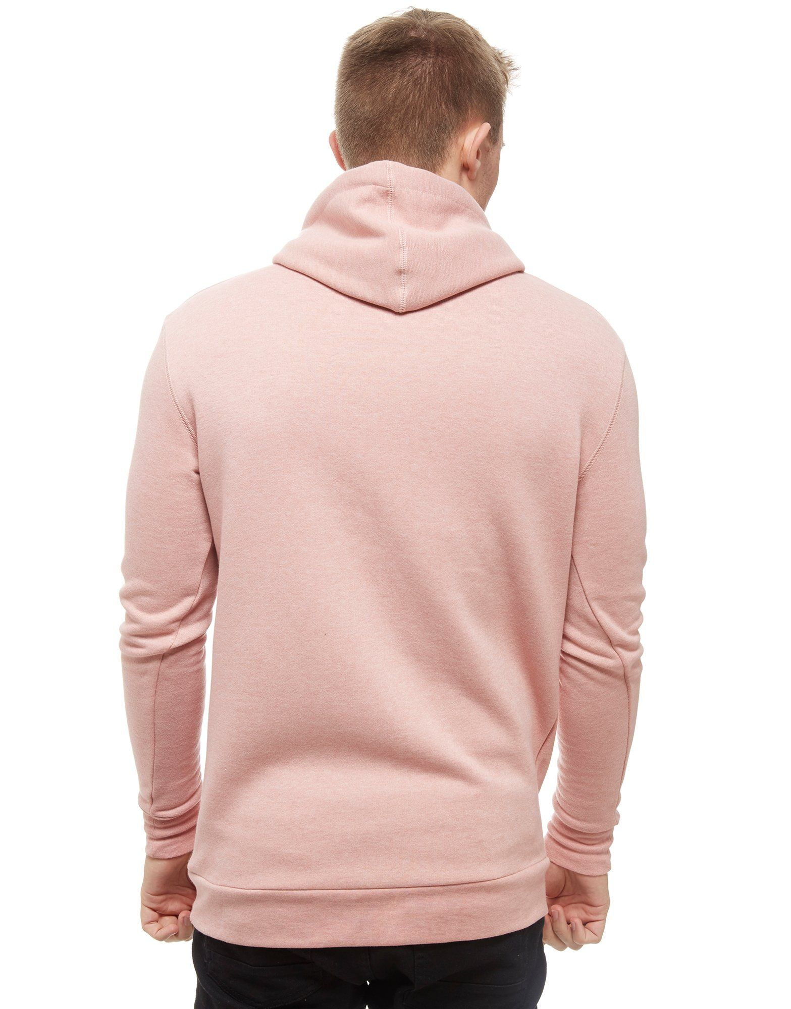 11 Degrees Core Fleece Overhead Kapuzenpullover Pink