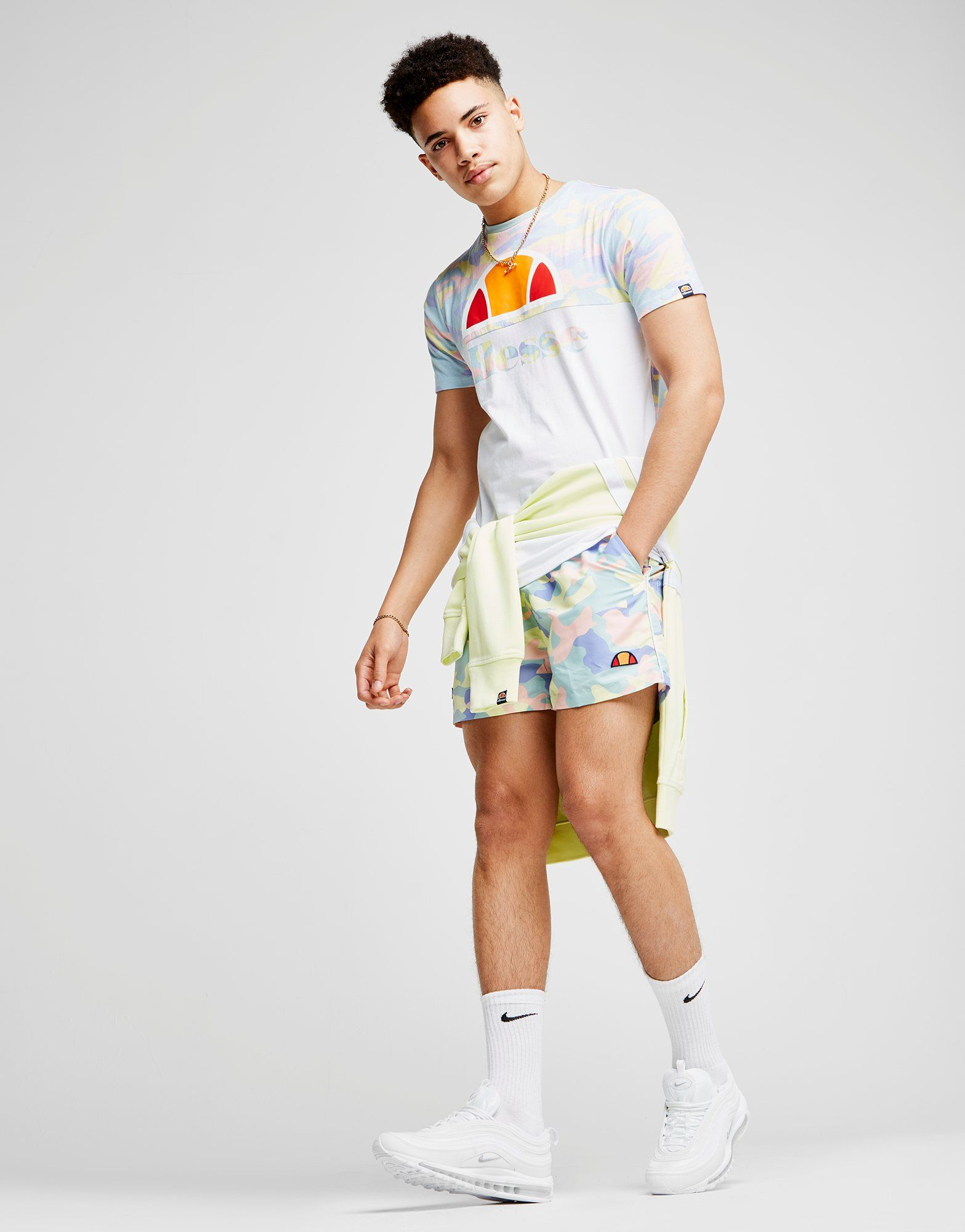 Ellesse Dem Slackers Swim Shorts Gr眉n