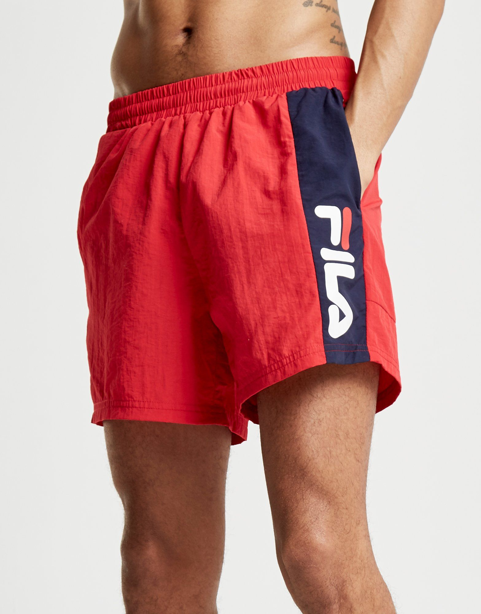 Fila Fingal Swim Shorts Rot