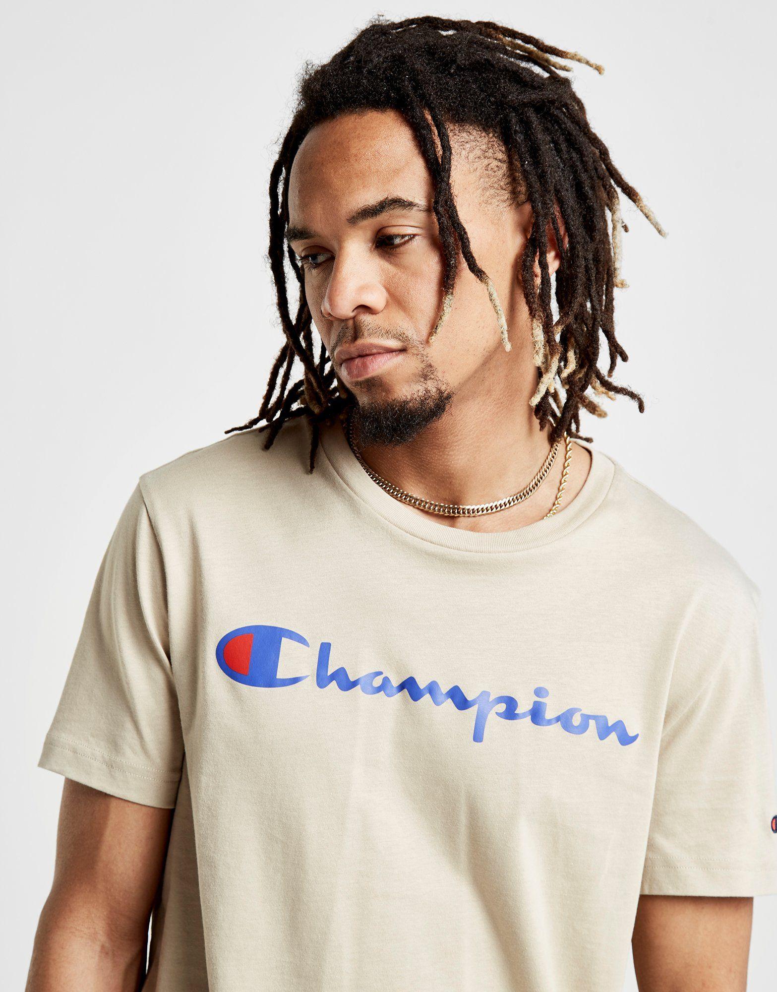 Script Champion Core Core Champion Shirt T Braun tHdZ4dx