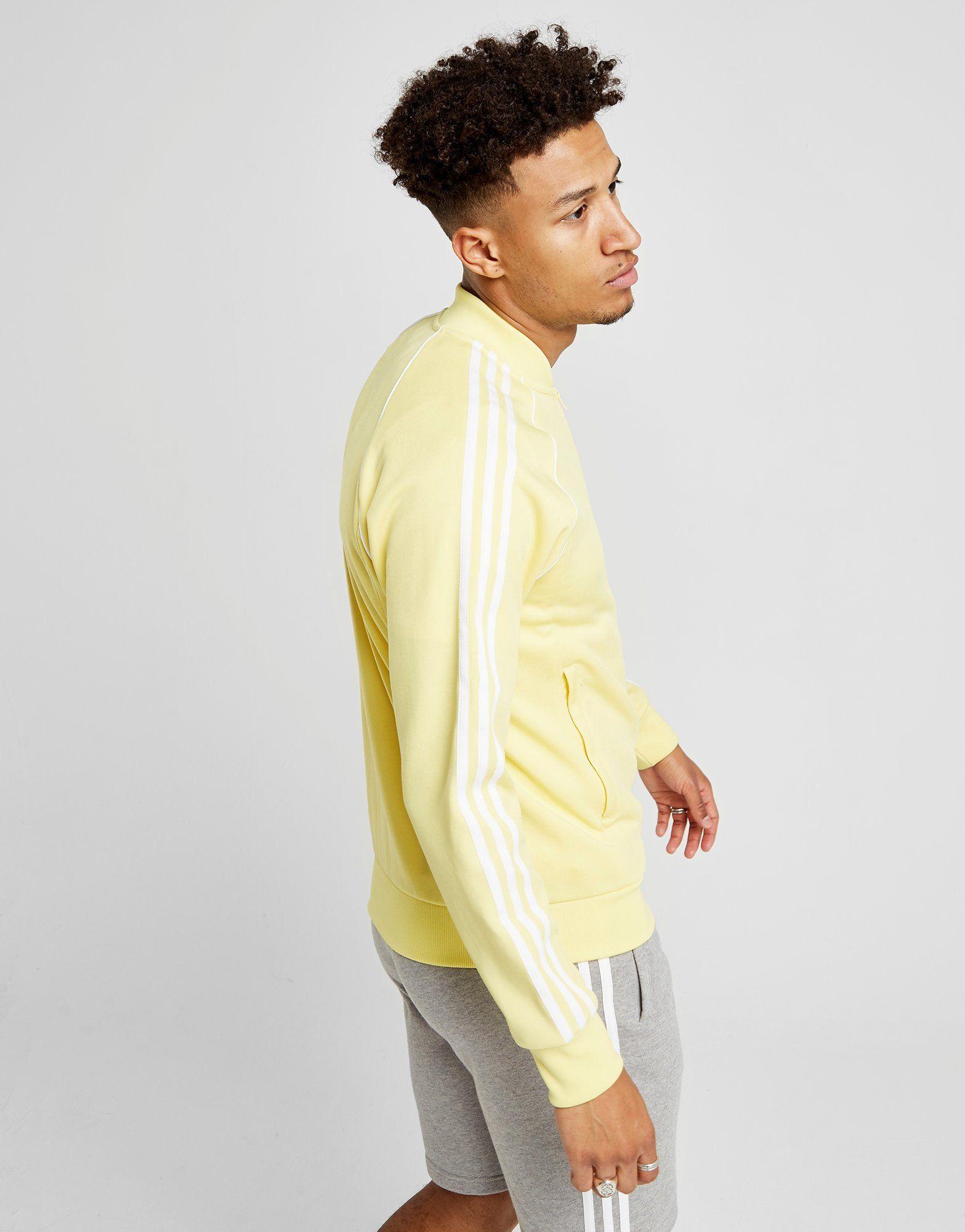 adidas Originals Superstar Track Top Gelb