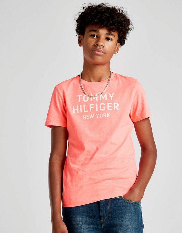 Tommy Hilfiger NY Logo T-Shirt Junior  919ade91892