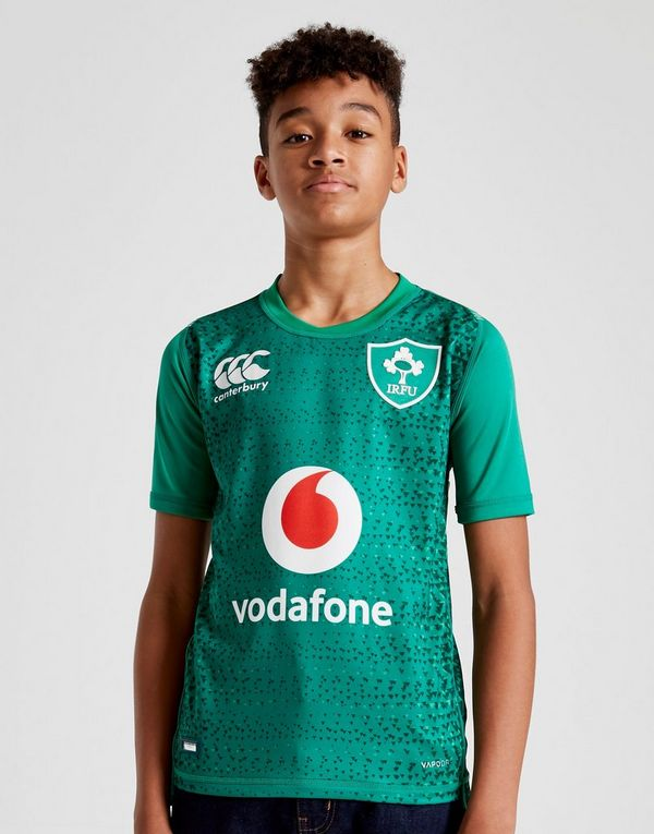 46edd239b9327 Canterbury Ireland RFU 2018 19 camiseta Pro 1.ª equipación júnior ...
