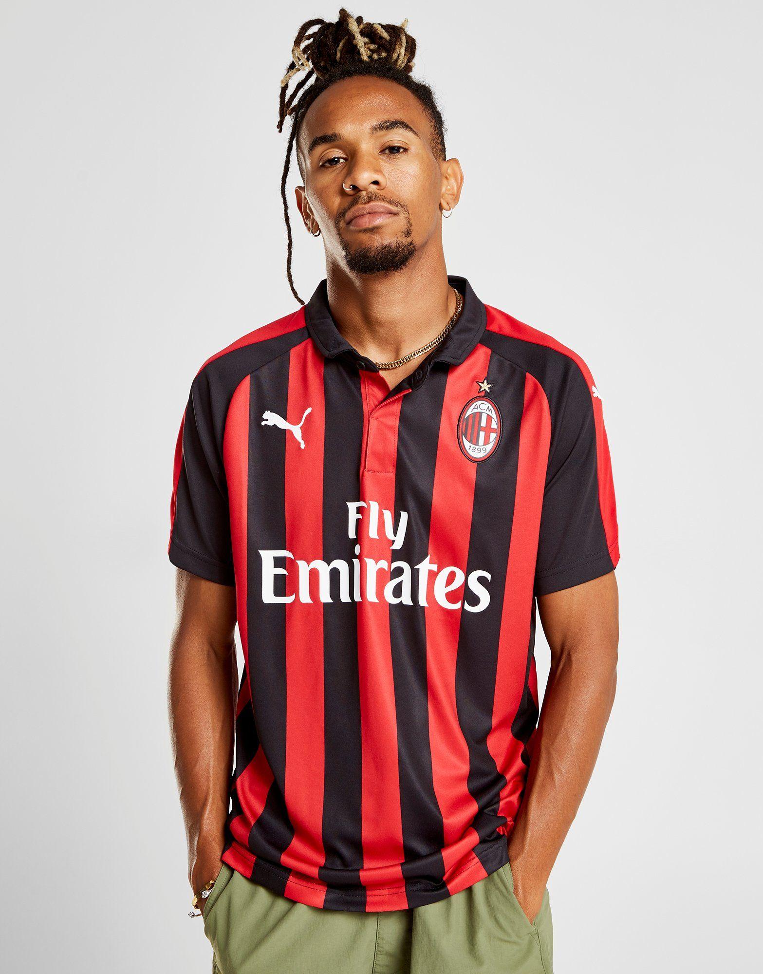 PUMA AC Milan 2018/19 Home Shirt