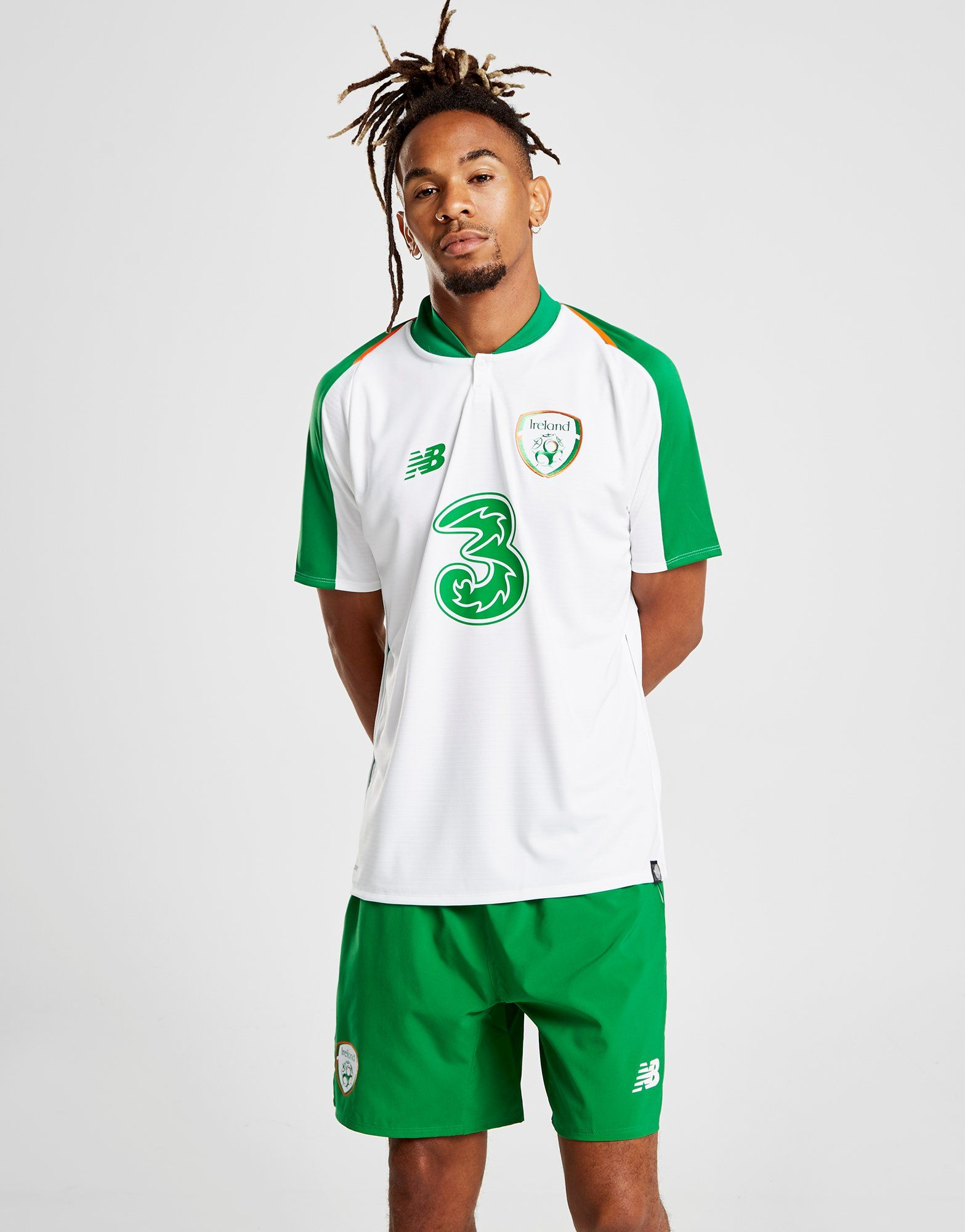 New Balance Republic of Ireland 2018/19 Away Shirt
