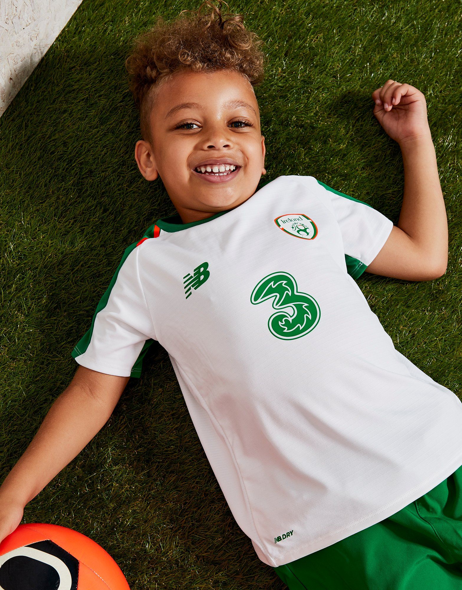 New Balance Republic of Ireland 2018/19 Sæt Børn