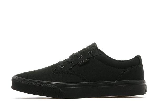 junior vans black