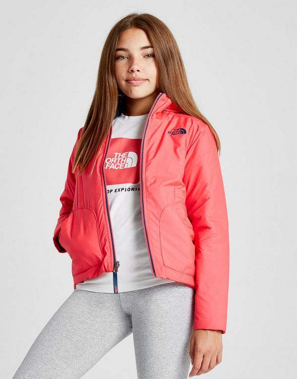 d4d5bffe5 The North Face Girls  Perrito Reversible Jacket Junior