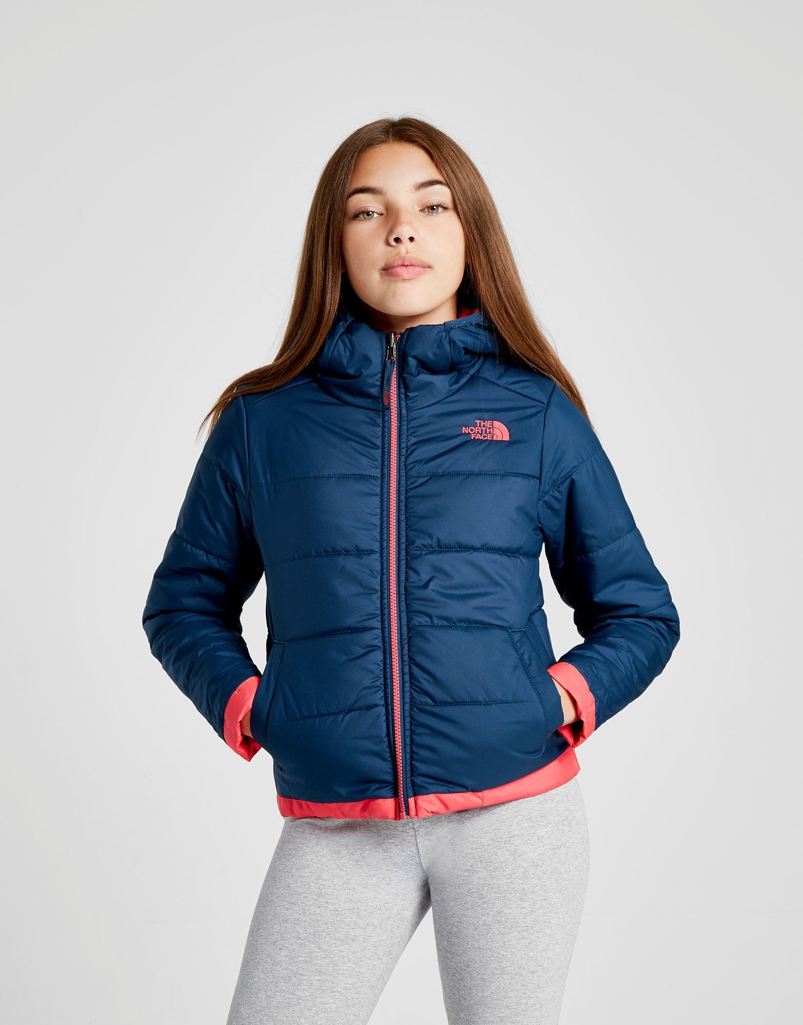 The North Face Girls' Perrito Reversible Jacket Junior