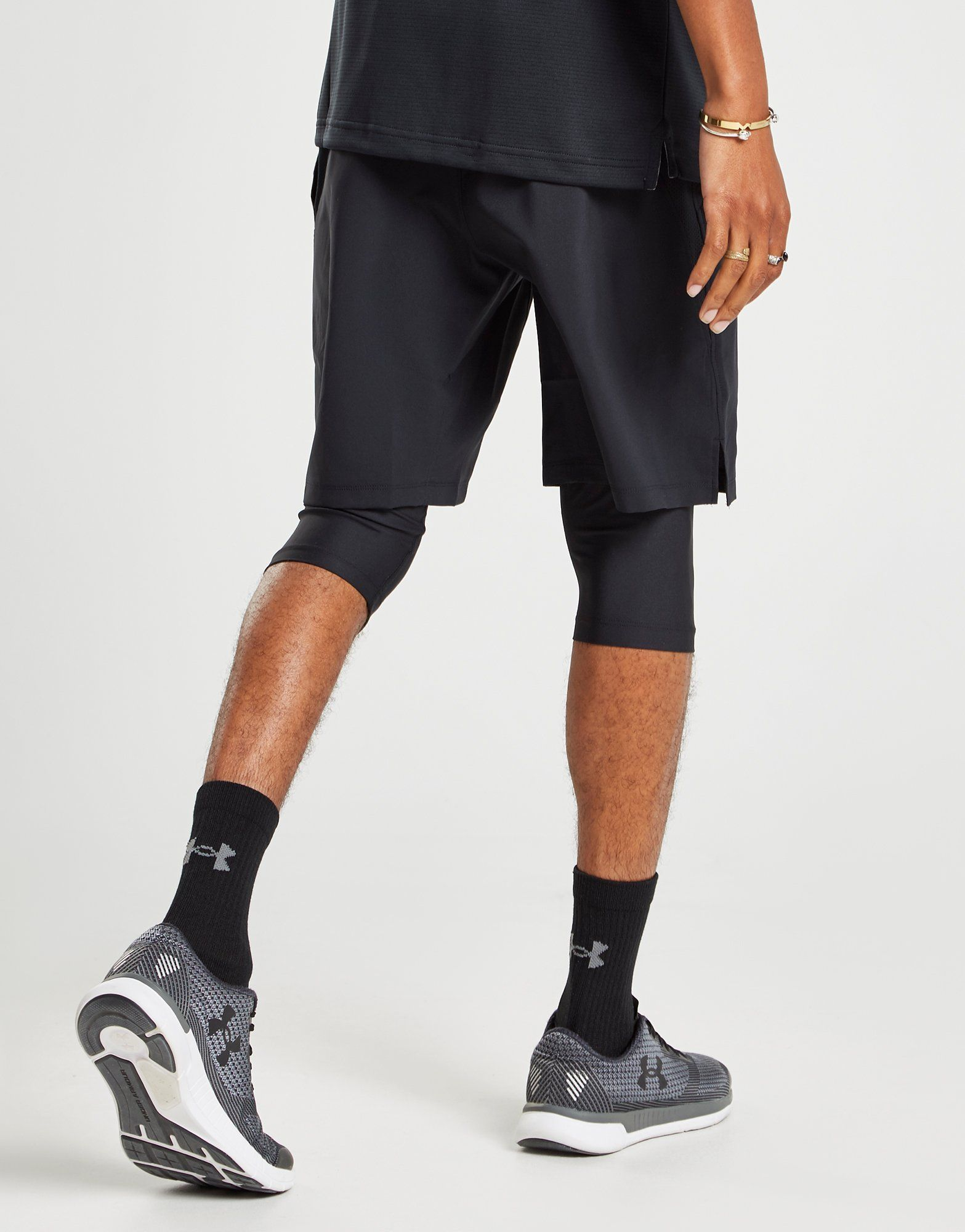 Under Armour Short Long 2 en 1 Homme
