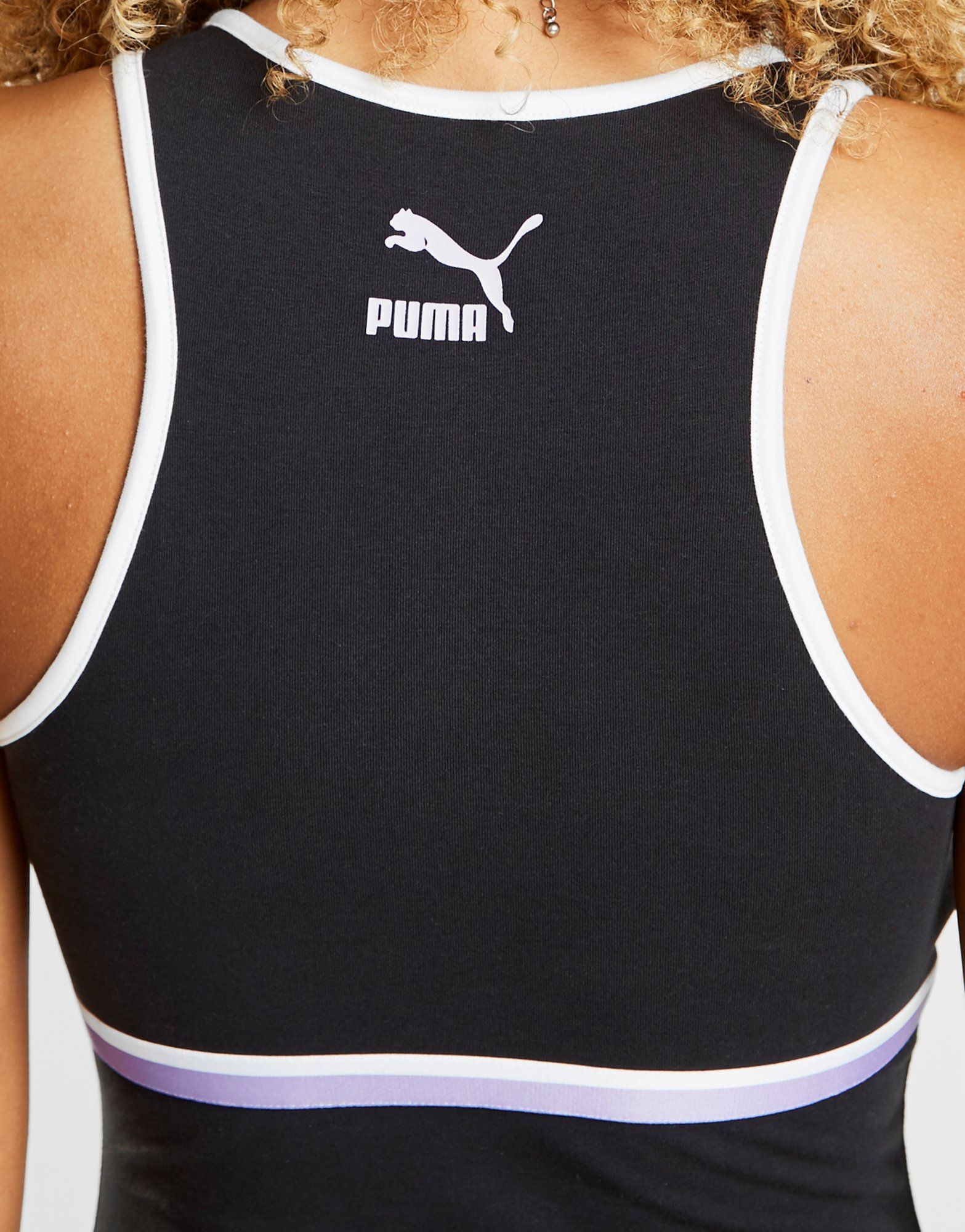PUMA Stripe High Neck BodySuit