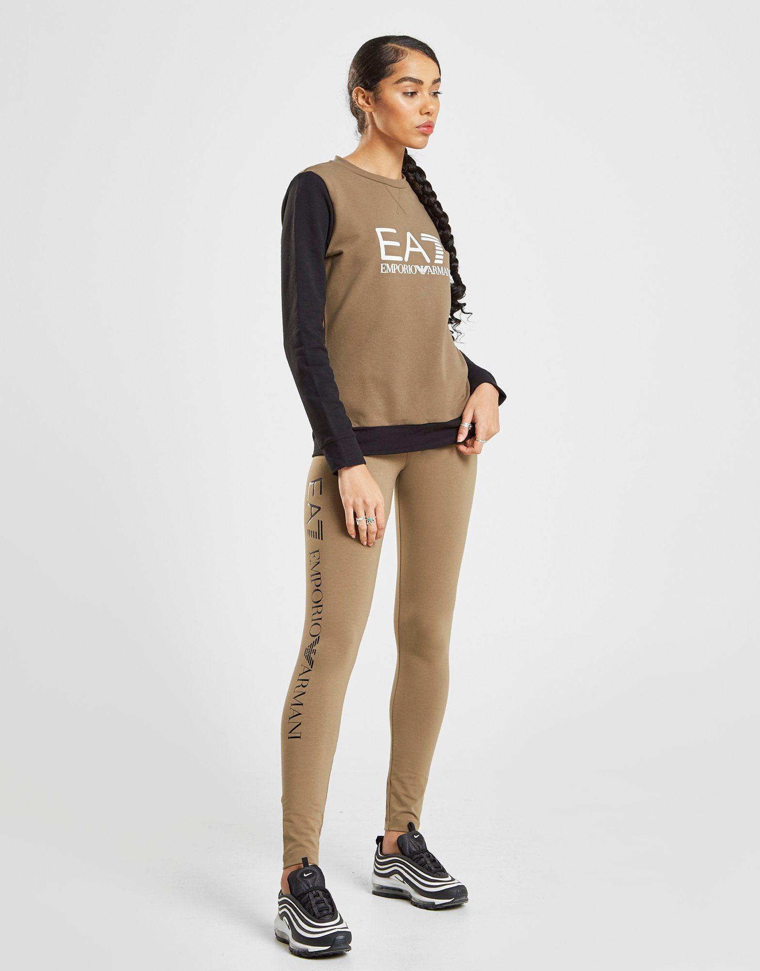 Emporio Armani EA7 Raglan Crew Sweatshirt