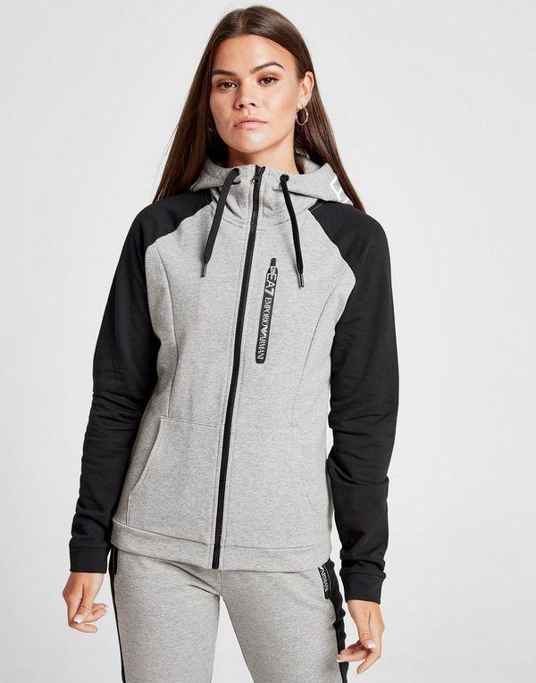 Emporio Armani EA7 Veste à capuche Tech Femme   JD Sports 8d4241f3950