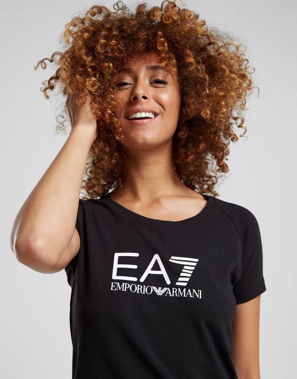 Emporio Armani EA7 T-shirt Logo Femme   JD Sports d34651d8b3e