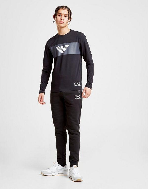 Emporio Armani EA7 pantalón de chándal Fleece Pocket  b08ec66ee10e