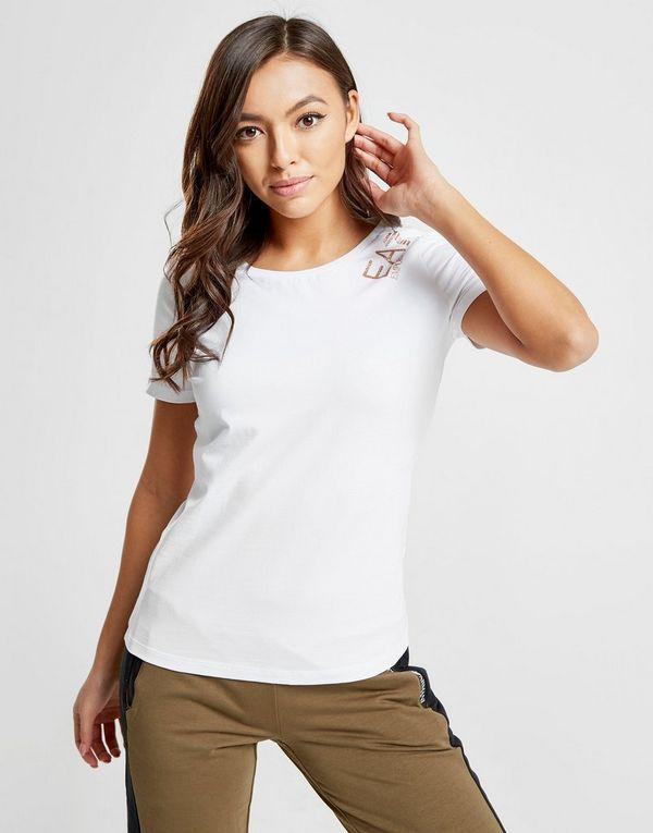 Emporio Armani EA7 T-shirt Crew Femme   JD Sports 95744a92159