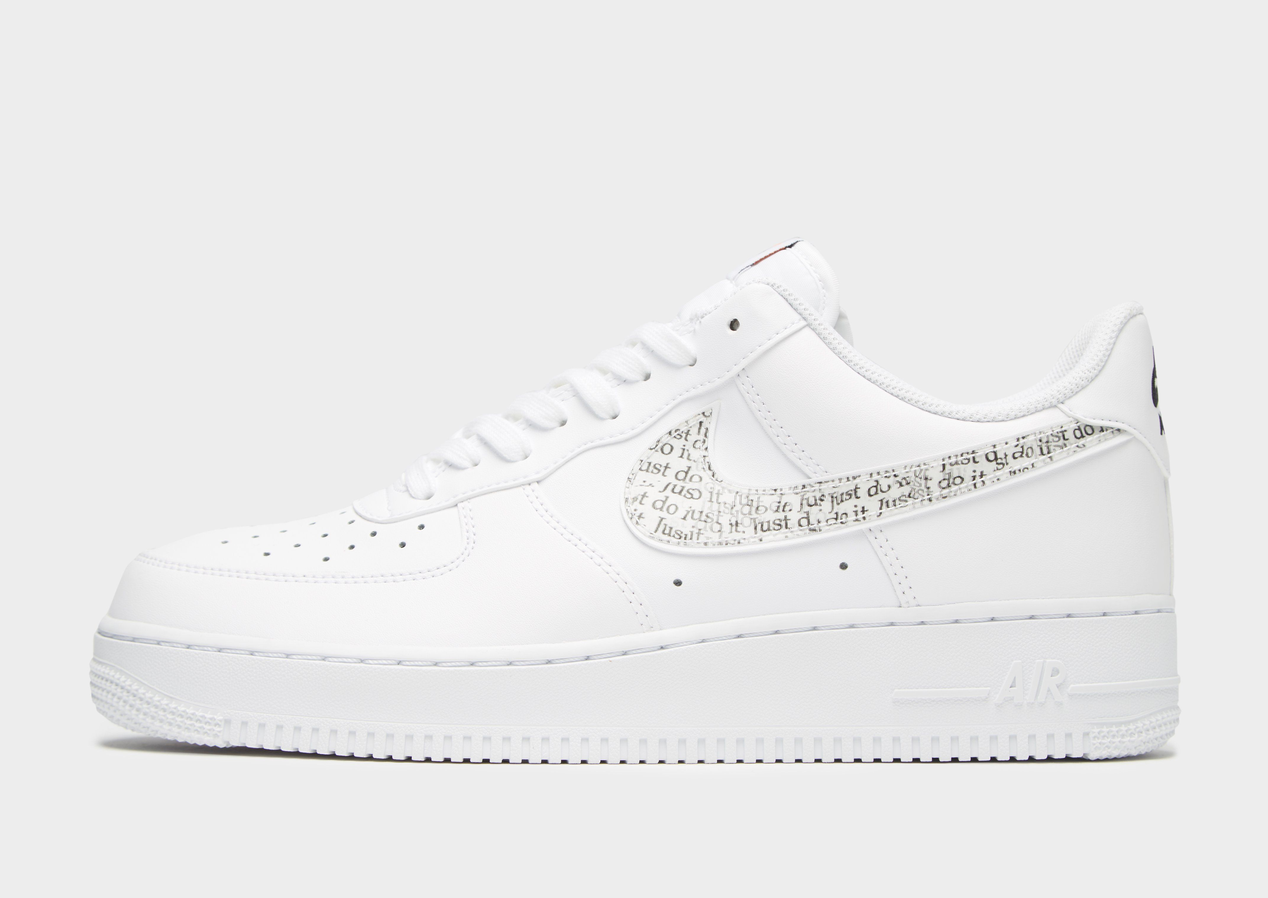 Nike Air Force 1 Low  Just Do It   d1f6255996dfa