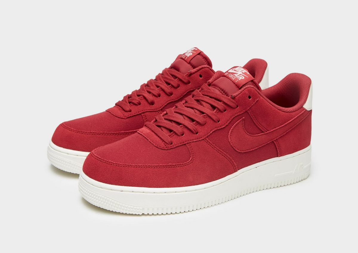 nike air force 1 '07 rosso 065938