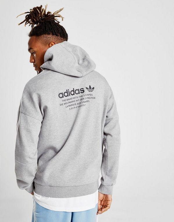 Con Nmd Felpa Adidas Jd 3 Sports Originals Stripes Zip FUTq7STw