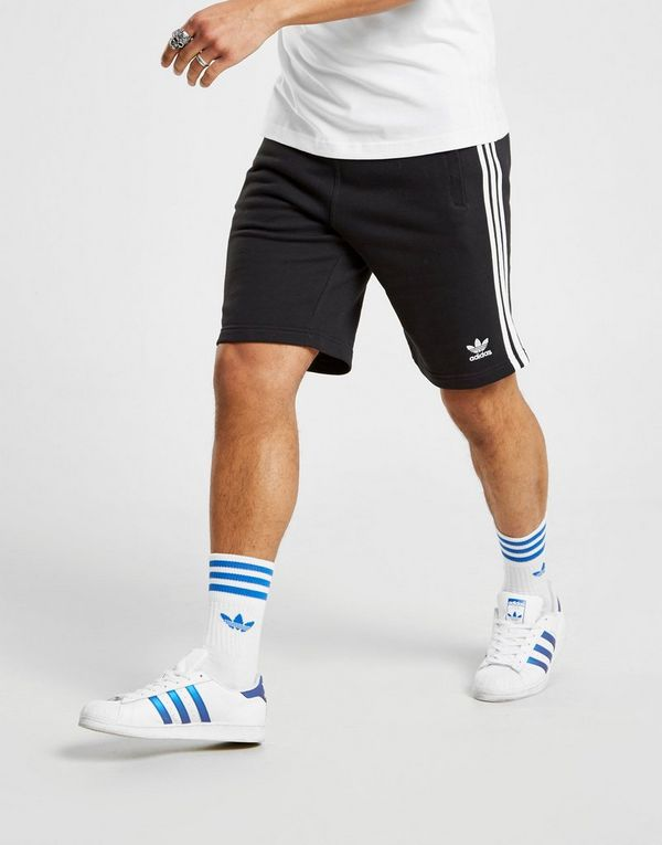 984b2f93735 adidas Originals 3-Stripes Fleece Shorts Heren | JD Sports
