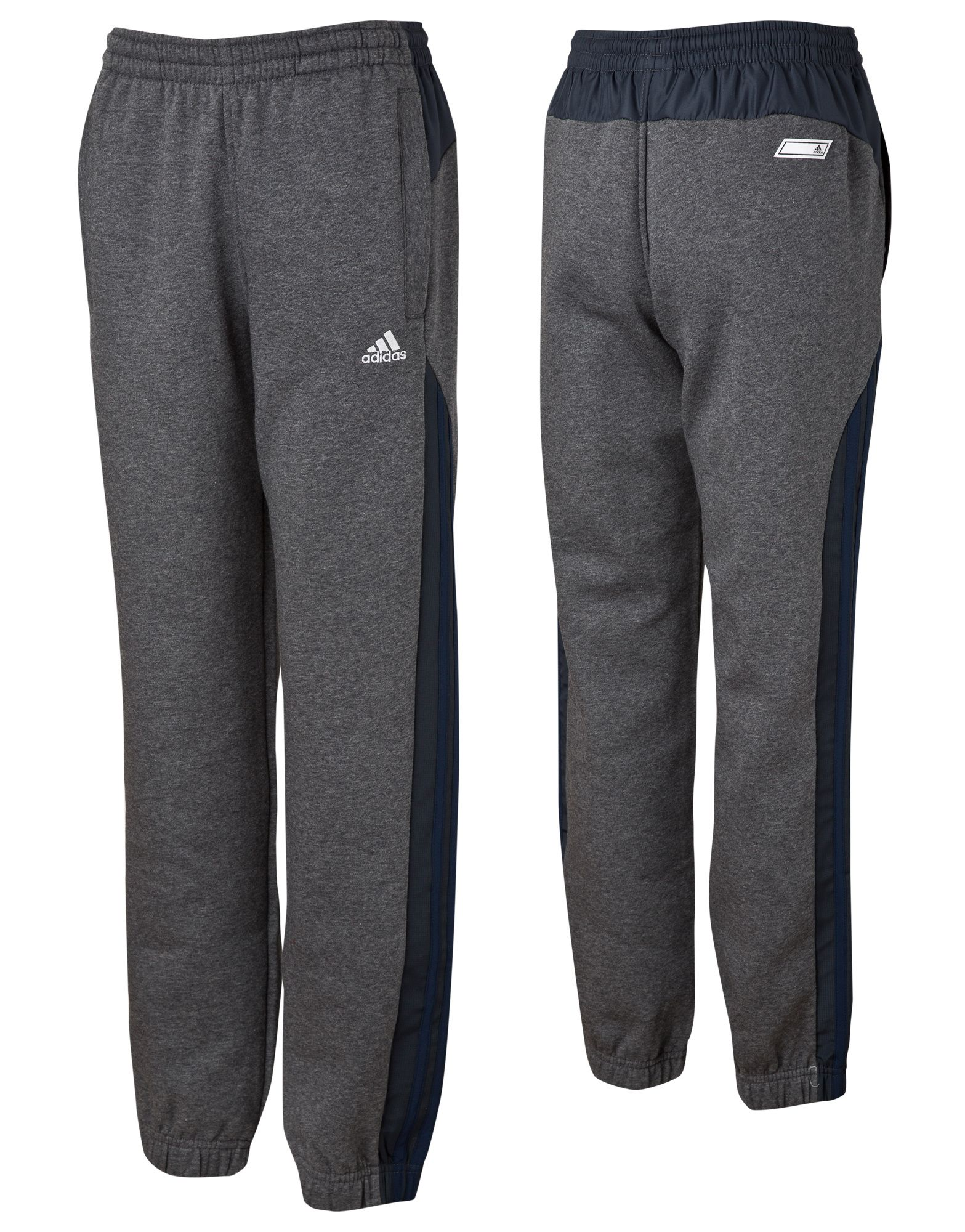 adidas Overlay Fleece Pants Junior