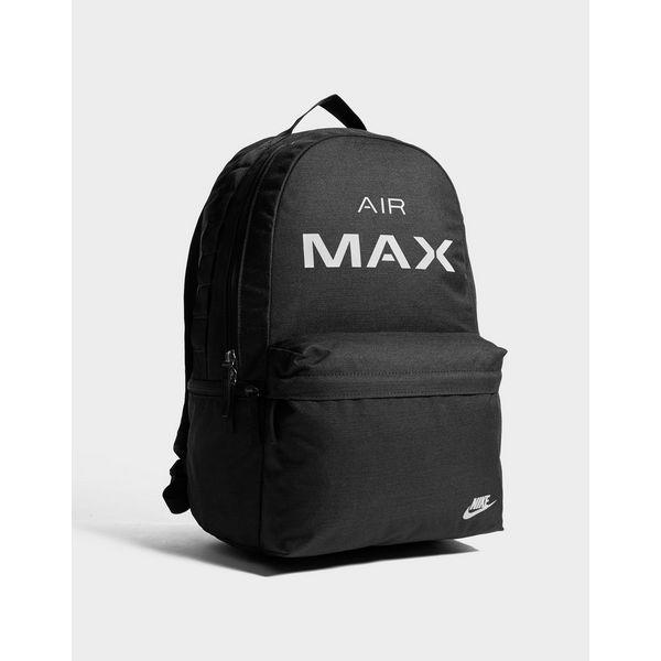 nike air max backpack black