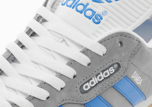 adidas originals samba super grey and blue