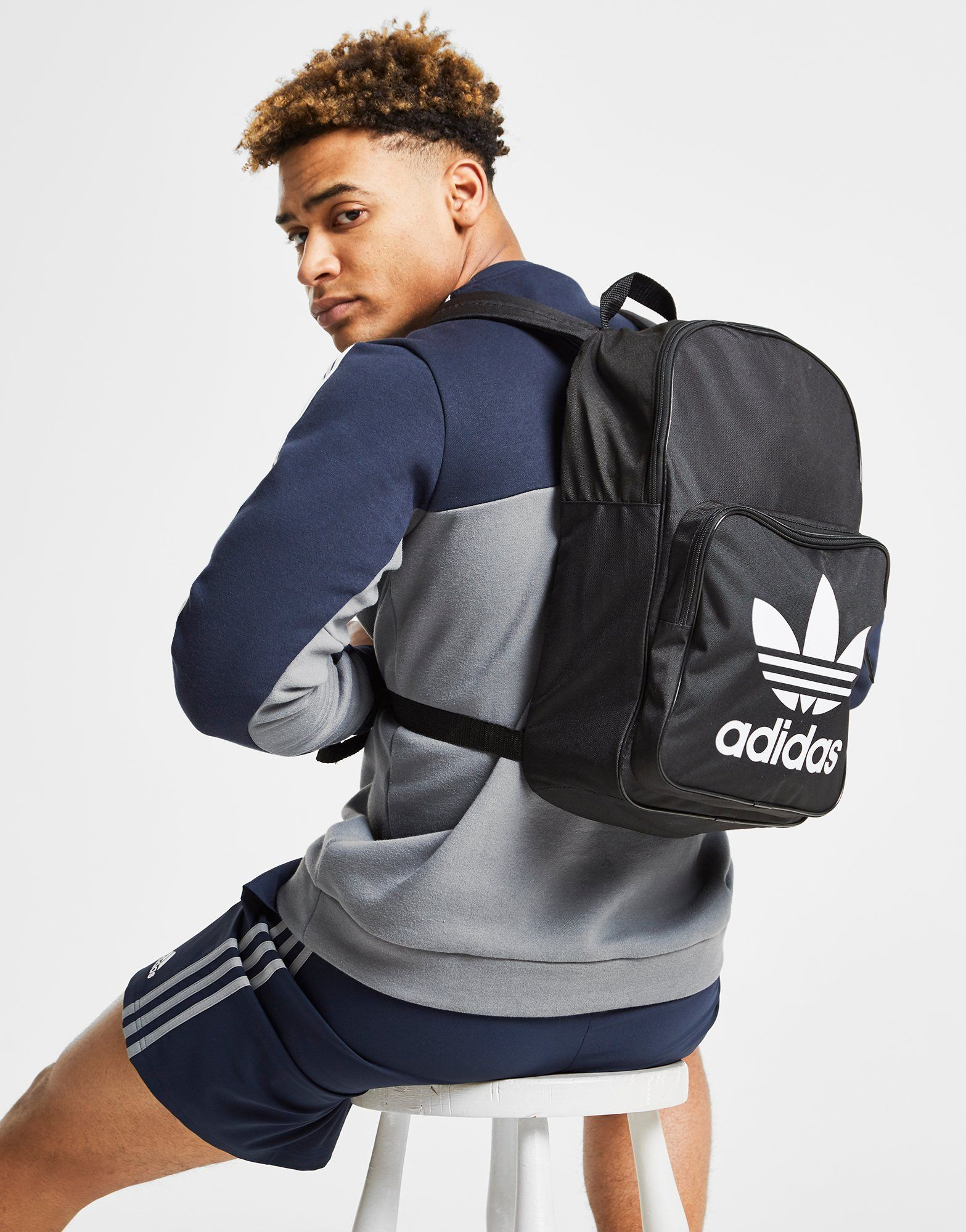 new product b03e6 02167 adidas Originals Classic Trefoil Backpack   JD Sports Ireland