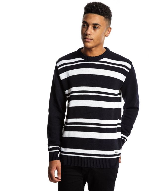 Nanny State Hartley Jumper Blue - Mens Top