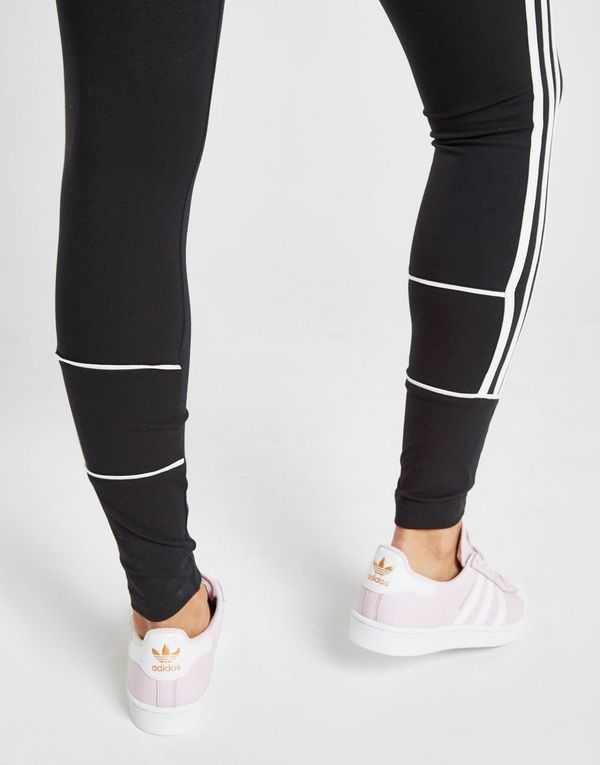 6d3e4be3873 adidas Originals 3-Stripes Piping Leggings Dames | JD Sports