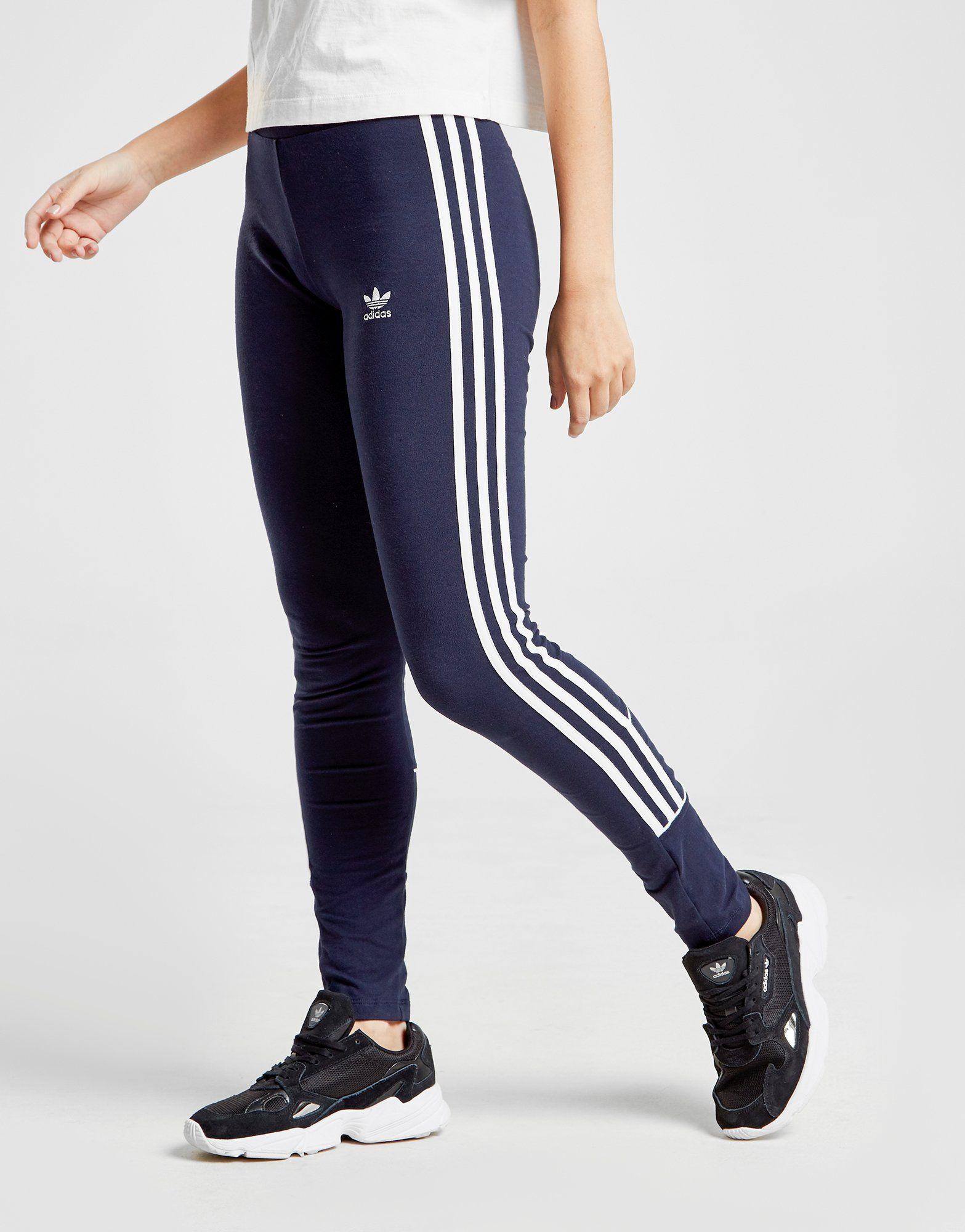 adidas Originals 3-Stripes Piping Leggings