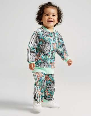 b1167ca62 adidas Originals Girls  Zoo Superstar Tracksuit Infant