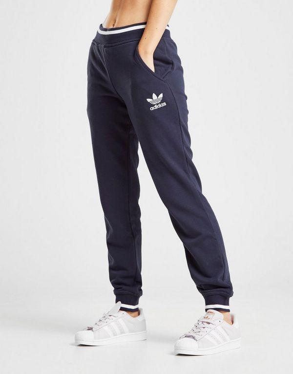 adidas Originals Trefoil Stripe Fleecebyxor  eb8c6f4f1a541