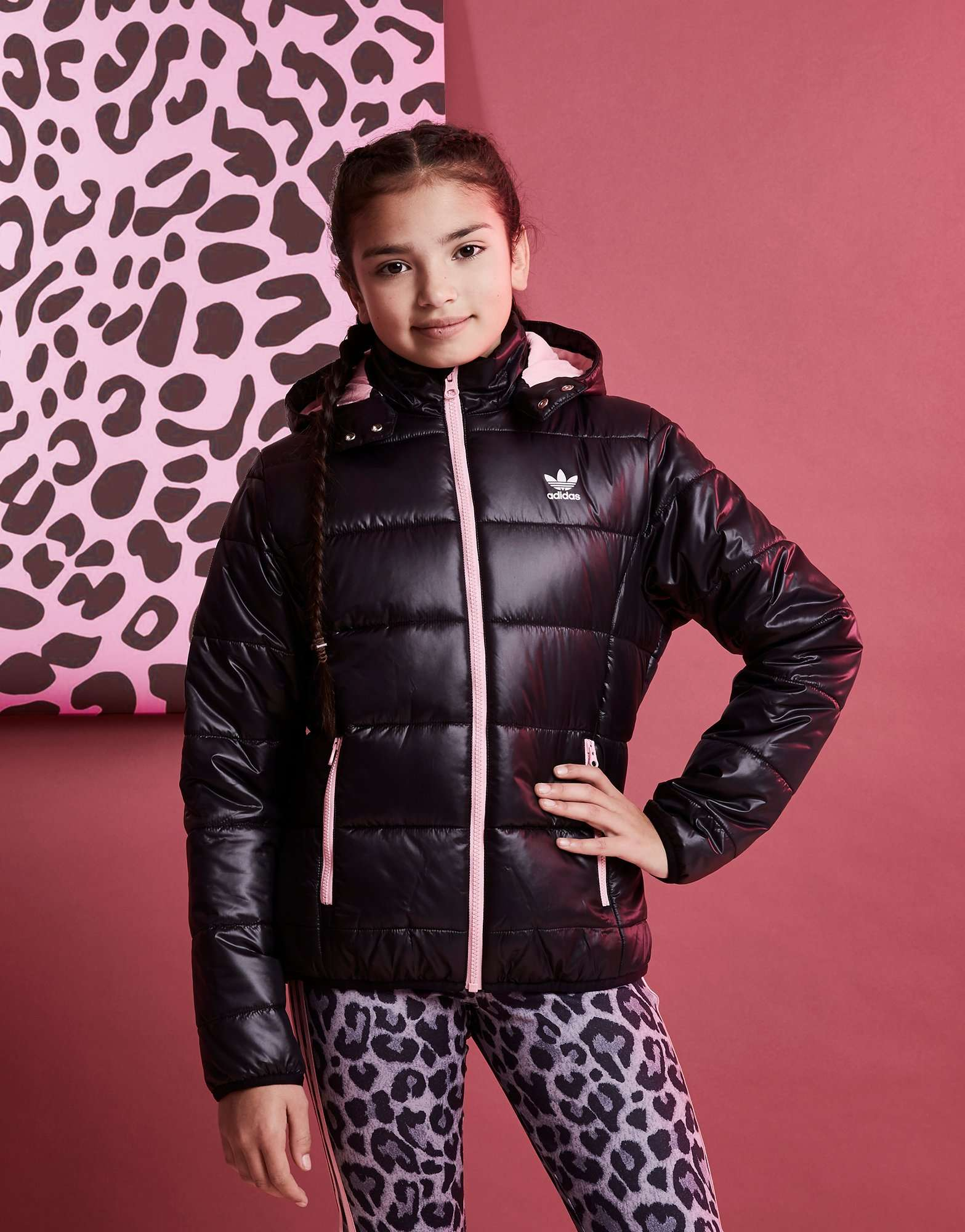 a19dcf4fe4f2 adidas Originals Girls  Padded Jacket Junior
