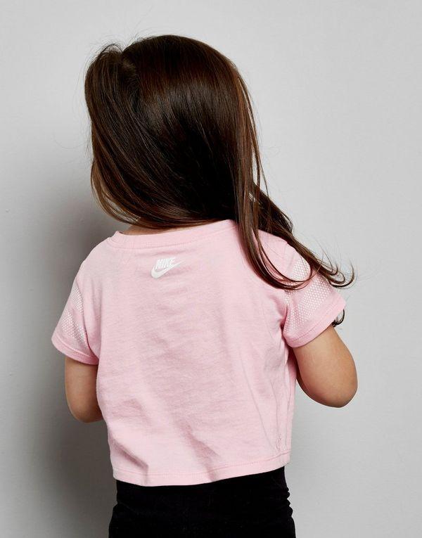 8059e0a58 Nike camiseta Girls  Just Do It Scoop para bebé