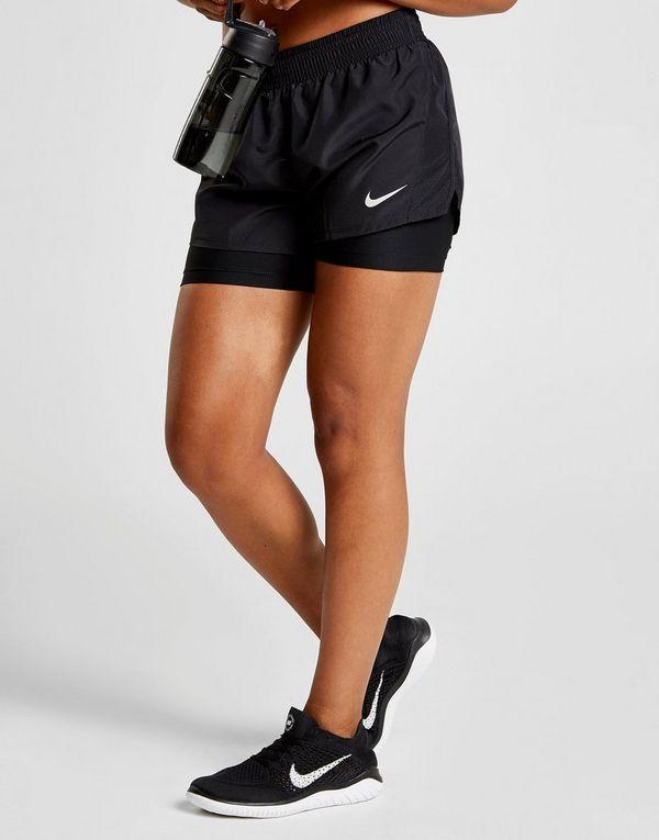 Nike Running 10k 2 in 1 Shorts Dames