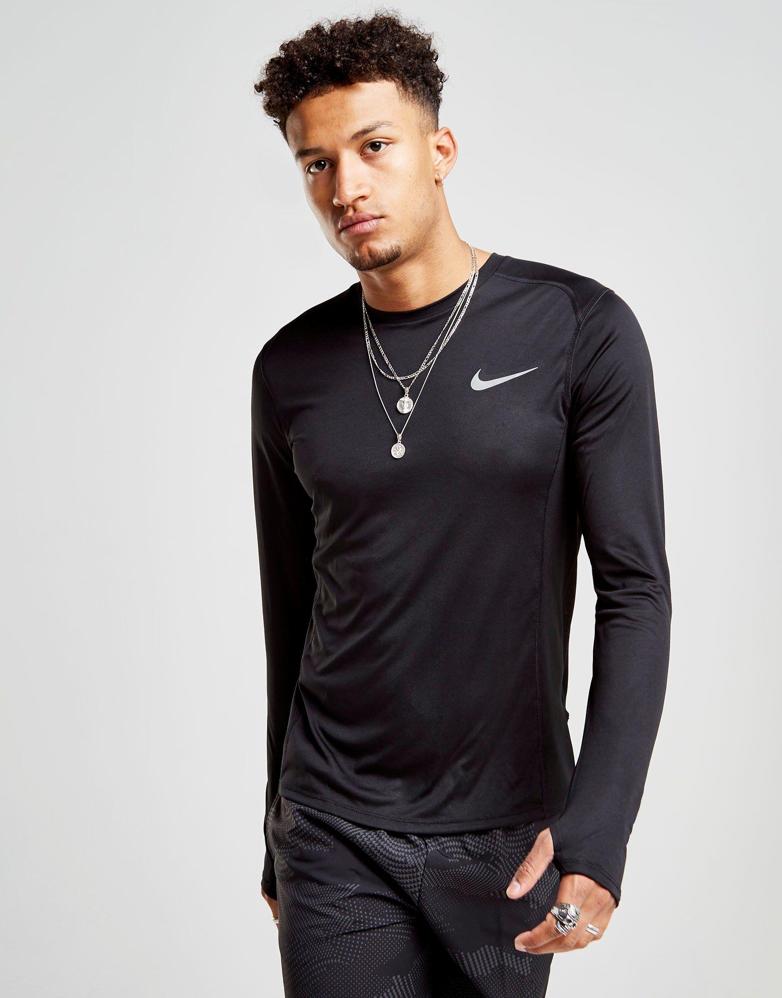 Mens Long Sleeve Shirt With Thumb Holes