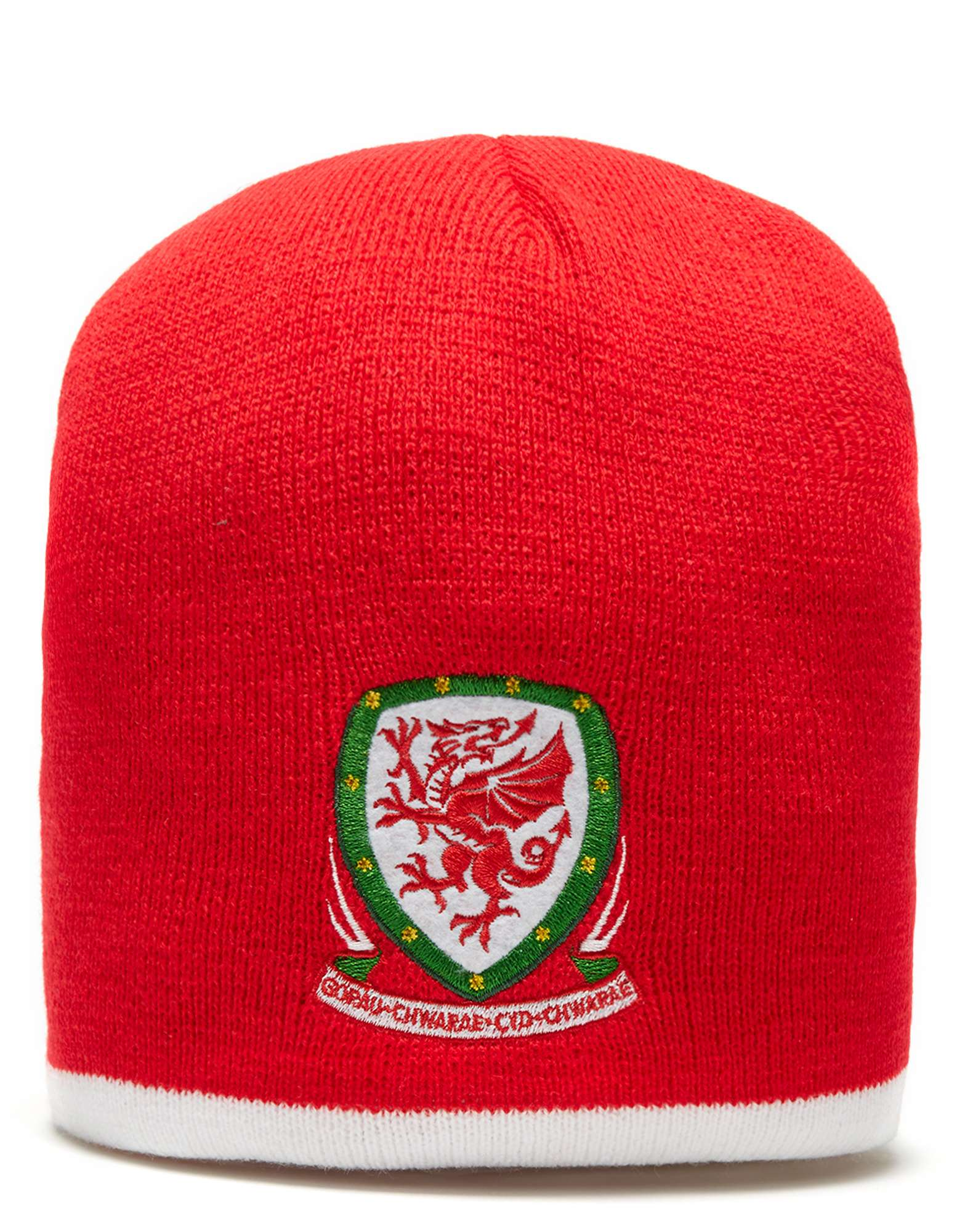Official Team Wales Knitted Hat
