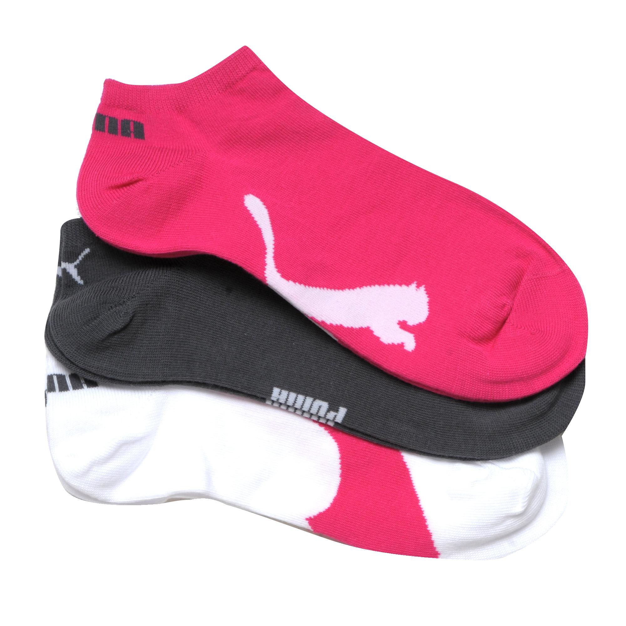 Puma 3 Pack Socks Multi
