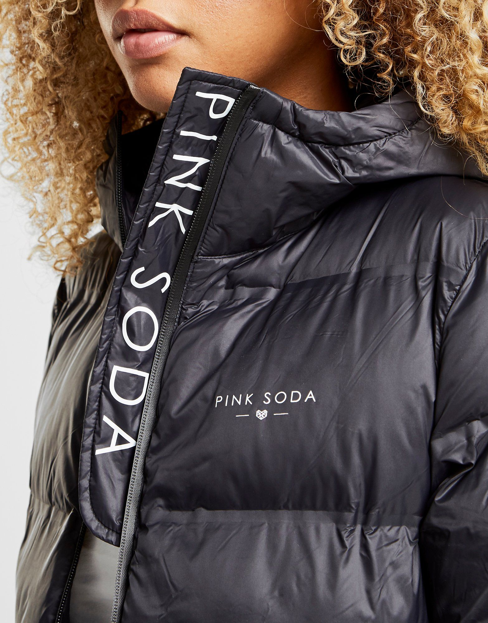 Pink Soda Sport chaqueta Bonded Padded