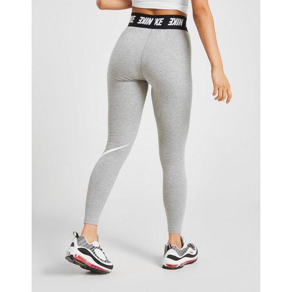 Nike High Waisted Swoosh Leggings Dames