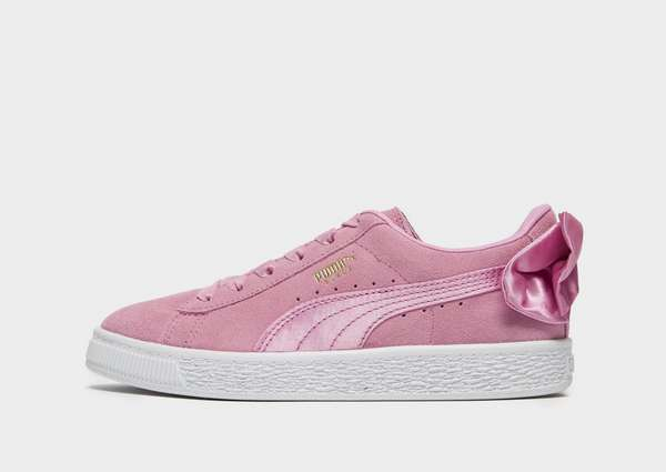 eb298a2a3cd197 PUMA Suede Bow Children