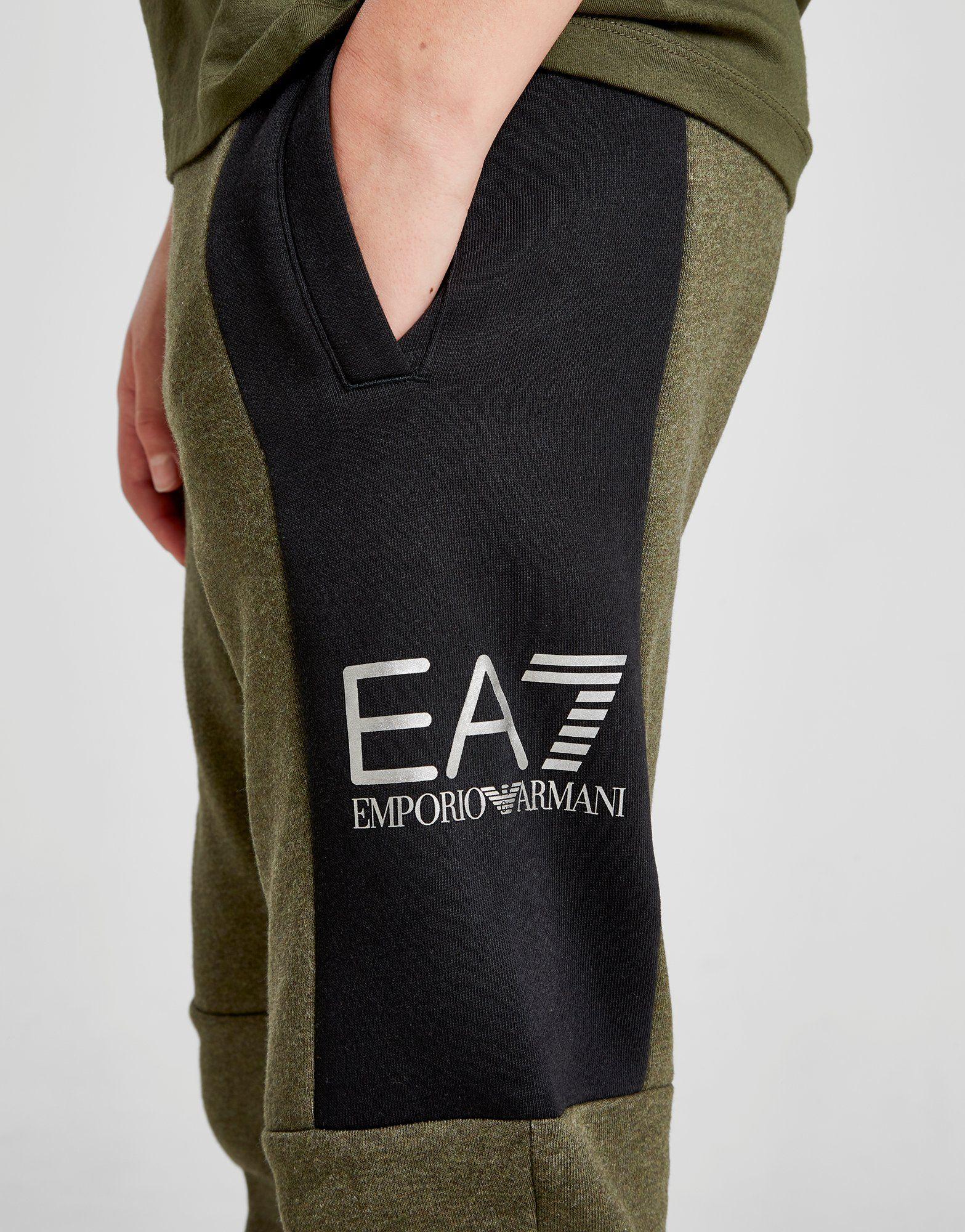 Emporio Armani EA7 pantalón de chándal Tritonal Foil júnior