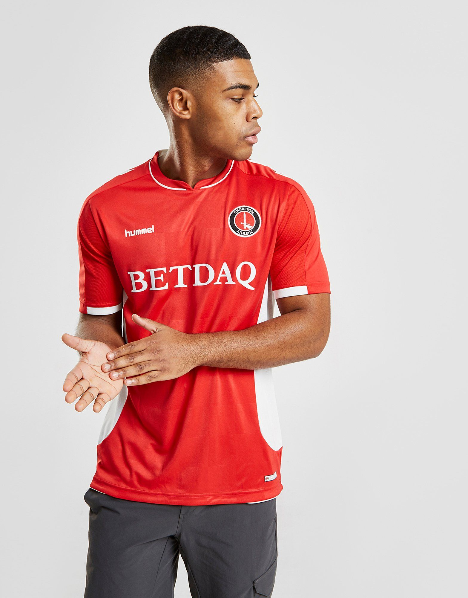 Hummel Charlton Athletic FC 2018/19 Home Shirt