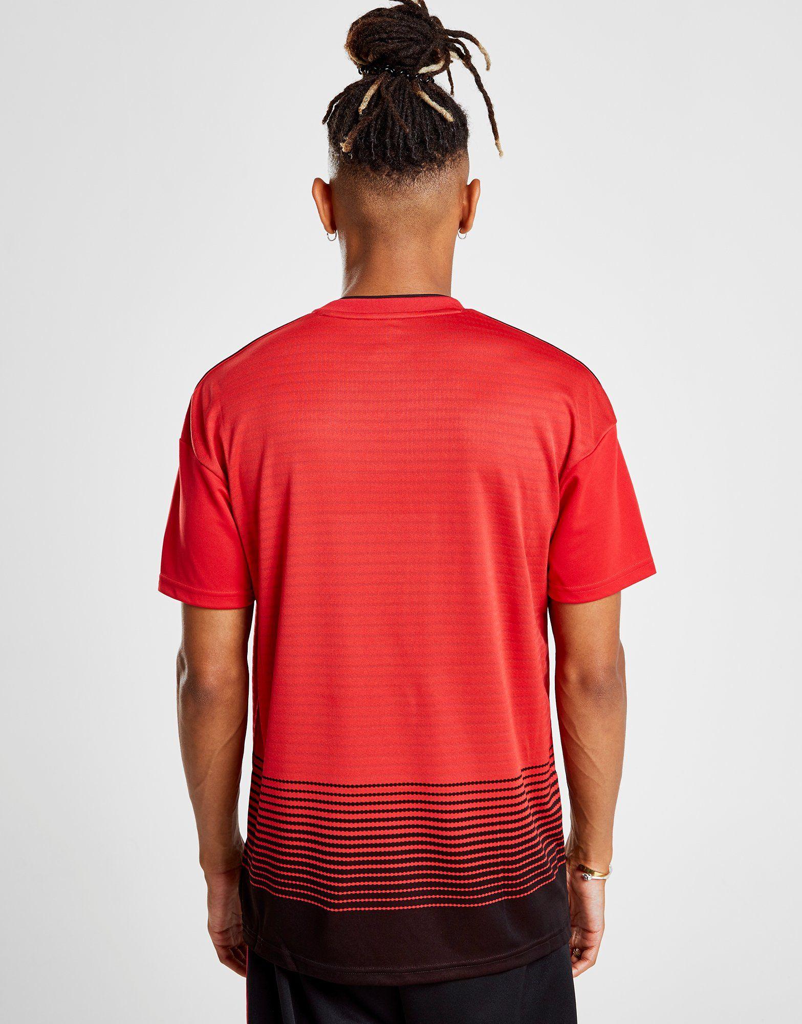 adidas camiseta Manchester United FC 2018/19 1.ª equipación