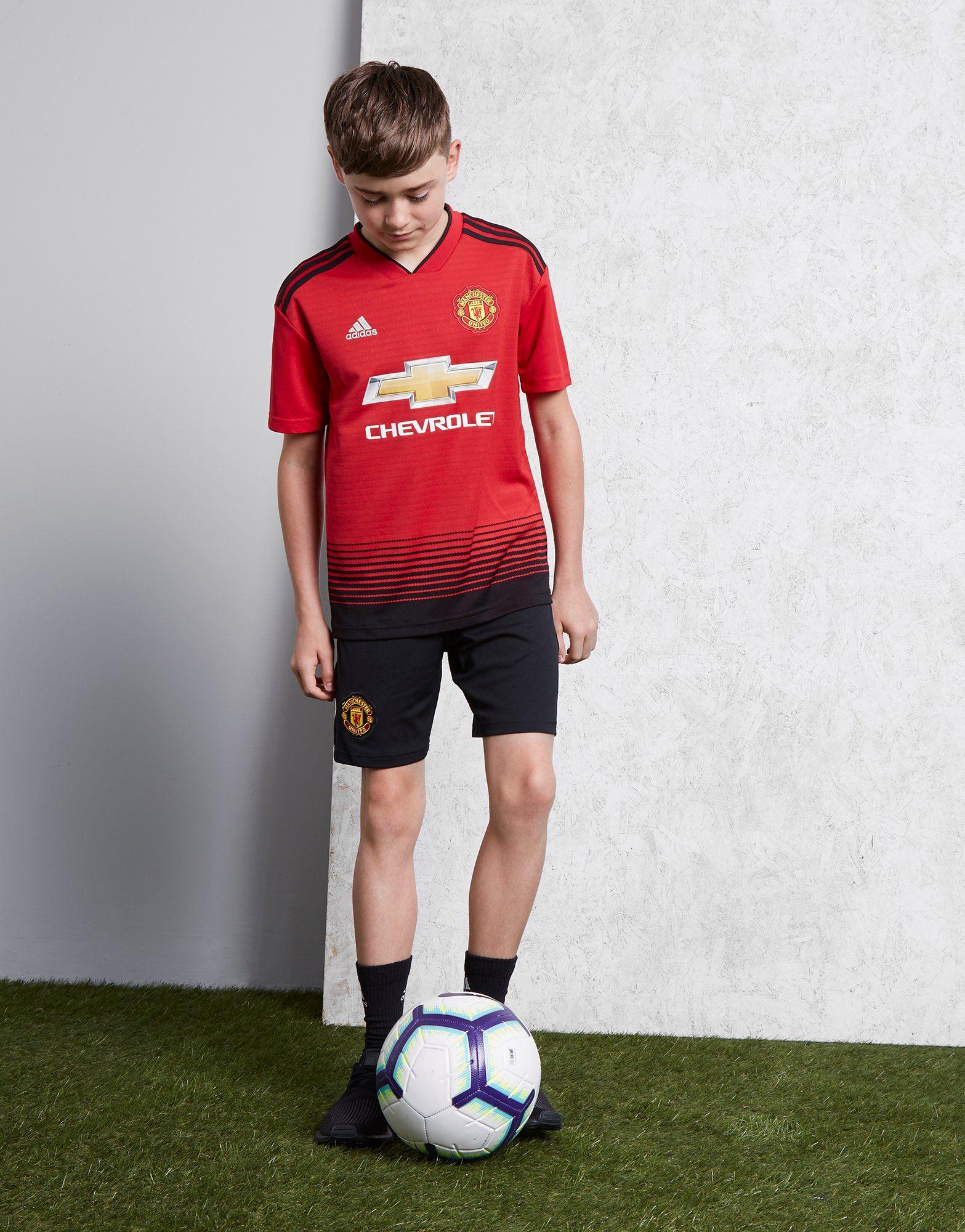 adidas Manchester United FC 2018/19 Maglia Home Junior